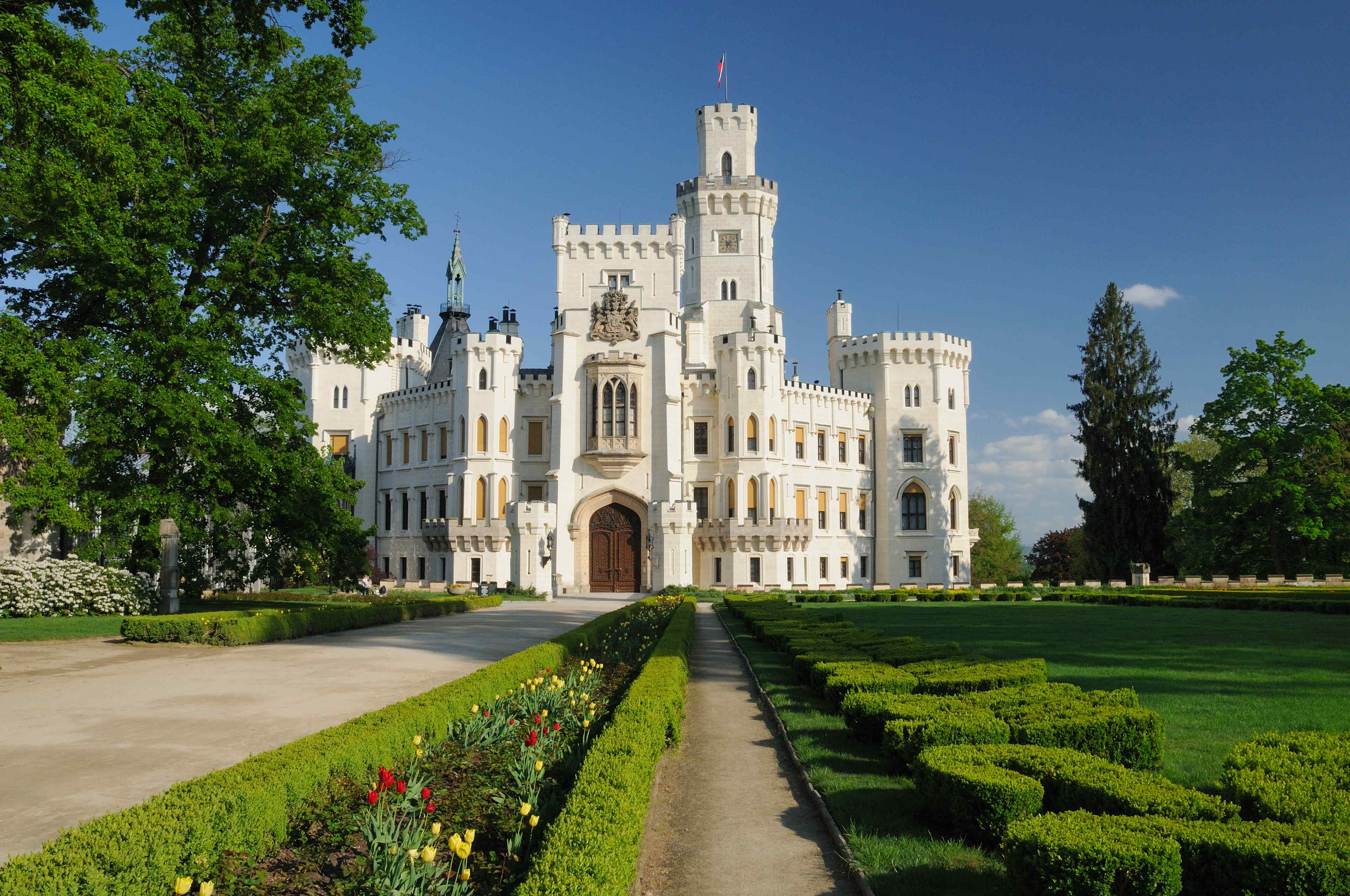 Hluboka Chateau, Czech Republic загрузить